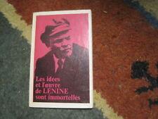 Les idées et l'oeuvre de Lénine sont immortelles/ Novosti 1974