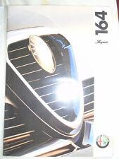 Alfa Romeo 164 Super brochure Jun 1994