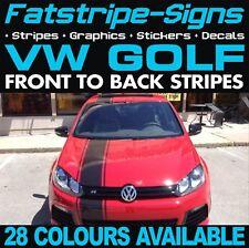 VW GOLF STRIPES GRAPHICS STICKERS DECALS VOLKSWAGEN V DUB GTI R32 R 1.6 2.0 D
