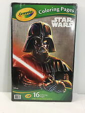 Crayola Coloring Pages Star Wars Darth Vader Cover
