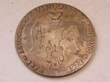 Medaille Bronze Verein Vinotte Vereniging 1872 1972 G Ein Brunet
