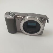 Sony Alpha A5100 24.3MP Digital SLR Camera - Black (Body Only)