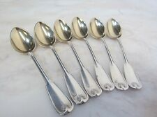 New listing Antique Palm by Tiffany & Co Sterling 6pc Set Demitasse Spoons Pat 1871 No Mono