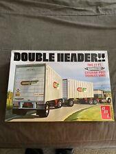 amt Double Header! Doubles van trailers