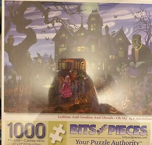 Goblins & Goodies & Ghouls-Oh My Bits & Pieces 1000 Jigsaw Puzzle