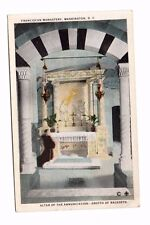 Usa - Washington Dc, Franciscan Monastery, Altar of the. - Vintage Postcard
