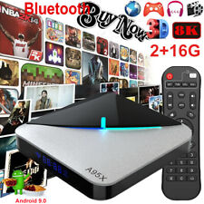 A95X F3 AIR 2G+16G 8K Android 9.0 TV BOX Quad Core BT WIFI H.265 Media Streamer