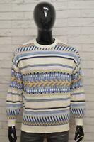 Maglione STEFANEL Uomo Taglia Size XL Felpa Pullover Sweater Man Cotone Vintage