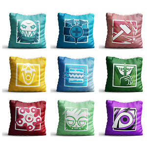 2 x /'Rainbow/' Cotton Pillow Cases PW00002450