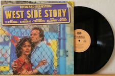 "12"" DLP - LEONARD BERNSTEIN - West Side Story - ETERNA - Booklet - Vinyl in NM!"