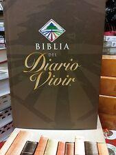BIBLIA DE ESTUDIO  DIARIO VIVIR  REINA VALERA 1960 TAPA DURA CON  INDICE