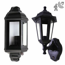 PIR Motion Sensor Outdoor IP44 Security E27 LED Full Half Traditional Lantern