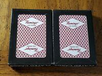 2 Decks Flamingo Casino Las Vegas Playing Cards.