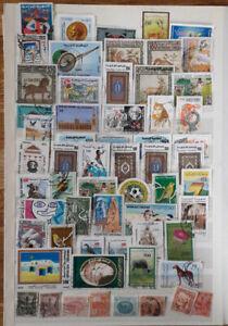 Tunesien schöne Sammlung auf 2 Seiten ca. 100 Marken alles dabei von alt bis neu