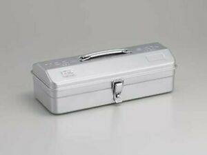 TOYO Steel Tool Box Y-350 Silver Made in Japan W373xD164xH124mm