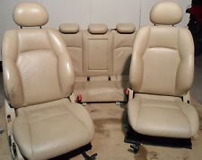 Mercedes-Benz C-Klasse W203 Limo. Lederausstattung Ledersitze Beige Komplett