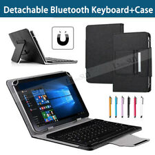 """UK For iPad 6th Generation 9.7"""" 2018 Universal Keyboard Leather Case Cover+Pen"""