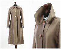 Vintage Women's MARNI Shine Long Coat Jacket Beige Size 10 42 M
