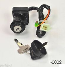 Ignition Key Switch for SUZUKI 1987-1996 LT4WD LT-4WD QUAD RUNNER 4WD ATV  E1