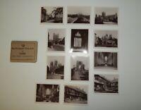 "York England United Kingdom Vtg 3.5"" Sepia Photographic Shapshots"