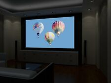"""110"""" (72"""" X 100"""") HD, HIGH CONTRAST GRAY PROJECTOR projection SCREEN MATERIAL"""