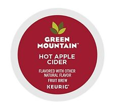 Green Mountain Naturals Hot Apple Cider 72 k cups read description