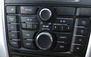 Vauxhall Astra J SRI 2.0 CDTI 09-15  Radio/Stereo Unit with CD Player (No Code)