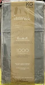 Wamsutta - 🌛Dream Zone🌜 - King Pillowcases - 1,000 TC - Teal - **NEW**
