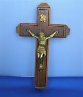 VIntage Religious Wall Hanging Crucifix Cross Last Rights Sick Call
