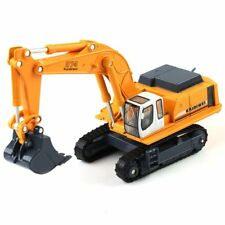 Toy KDW 1:87 Scale Diecast Crawler Excavator Construction Vehicle Car Models