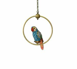 Tiffany Parrot on Ring Pendant Fitting with Suspension Chain PM96