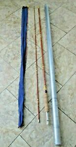 VTG Wright & McGill Sweetheart M2A 8' Fly Fishing Rod 2PC Tube & Sock NICE!