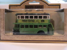 LLEDO DG15 010D 1932 AEC REGENT DOUBLE DECK BUS - SWAN VESTAS -VERY RARE VERSION