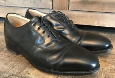 Johnson & Murphy Cap Toe Black Leather Oxfords Limited Collection  Size 9 D / B