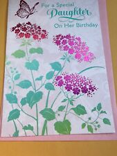 Hallmark Happy Birthday To Daughter Greeting Card Thoughtful Card Great Price
