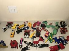 HUGE Vintage Power Rangers Toy Bandai Mixed Lot Megazord Figures 'As Is' READ 2A