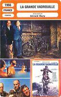 FICHE CINEMA FILM FRANCE LA GRANDE VADROUILLE Bourvil Louis de Funès Gérard Oury