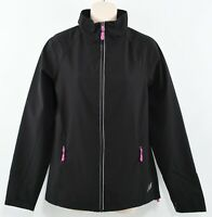 NEW BALANCE Women's Black Lightweight Windbreaker Jacket, Black, size SMALL