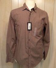 Murano Sport Men's Button Front Long Sleeve Shirt Size M