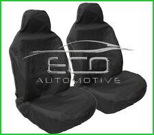 Volvo V70 HD WATERPROOF BLACK CAR SEAT COVERS PAIR