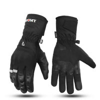 Motorcycle Gloves Waterproof Windproof Winter Warm Screen Touch Riding Gloves