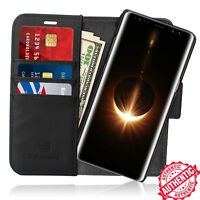 For Samsung Galaxy Note 8/S8+ Leather Wallet Credit Card Holder Stand Case Cover