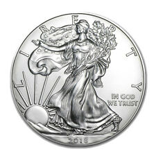 Silver 2018 American Eagle 1 oz. Coin - .999 fine silver American Eagles 1oz