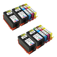 10PK Remanufactured for HP 902XL Ink Cartridge BK/C/M/Y High Yield High Capacity