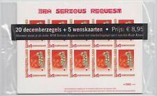"""Nederland 2619 2 x 10 Decemberzegels 2008 """"3FM Serious Request"""" met 5 kaarten"""