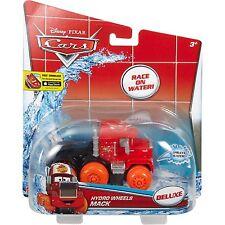 DISNEY CARS DELUXE HYDRO WHEELS MACK PULLBACK POWER RACE ON WATER  *NU*