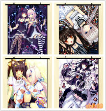 Anime chocola&vanilla Neko Para Cute  Home Decor Poster Wall Scroll Mural #Q-943
