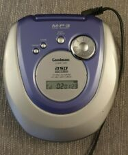 Goodmans Portable Compact Disc/ Built-in MP3 Player G10965024