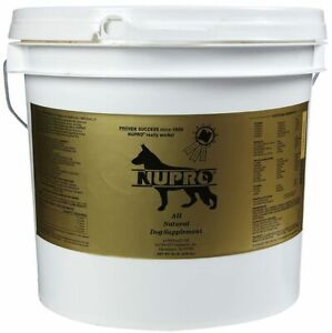 NUPRO Original GOLD All Natural Supplement for Dogs Formula 20 Pound Container