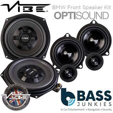 "Vibe BMW X3 (F25) 8"" Underseat Car Subwoofers & Front Door Speaker Upgrade Kit"
